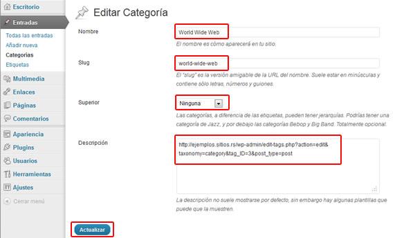 """Opcion """"Editar"""""""