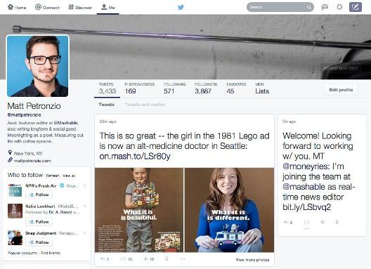 Twitterprofile nuevo