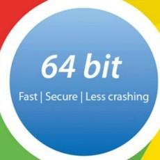 Chrome ya está disponible en 64 bits para Windows 7 y 8
