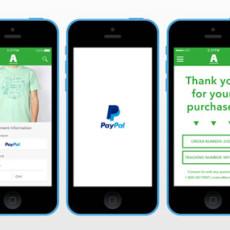 PayPal presenta el pago One Touch para apps