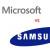 Samsung le pagó 1.000 millones a Microsoft por patentes