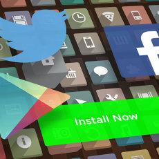 La guerra de Facebook, Google, y Twitter por los anuncios para instalar apps