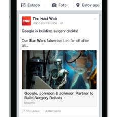 Facebook y su paso por los dispositivos móviles