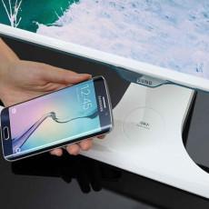 Samsung anuncia monitor para cargar un teléfono sin usar cables